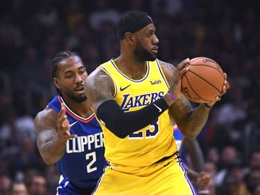 NBA : les Clippers remportent leur premier duel de choc face aux Lakers