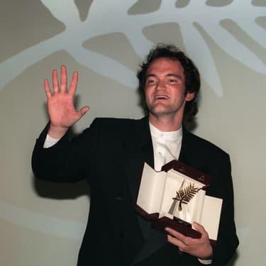 Le réalisateur Quentin Tarantino et sa Palme d'Or