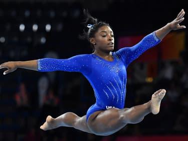 Mondiaux de gymnastique : la démonstration de Simone Biles