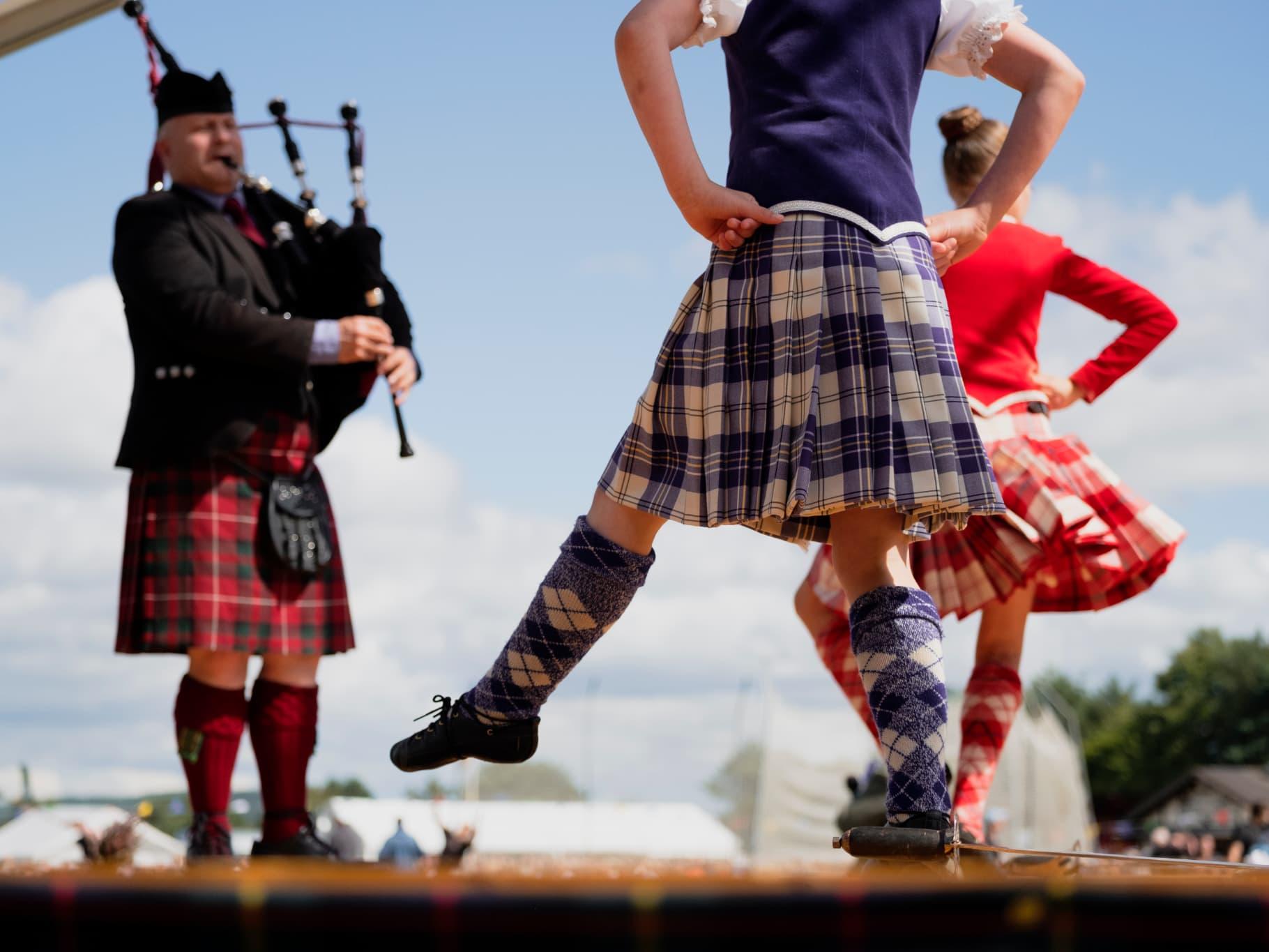 Zoom sur les Highland Games, les jeux écossais
