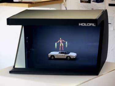 Holofil : la publicité holographique du futur ?