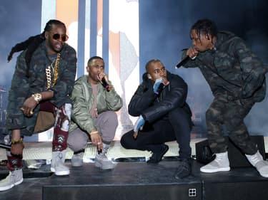 Kanye West, retour en force avec Travis Scott et Dr. Dre