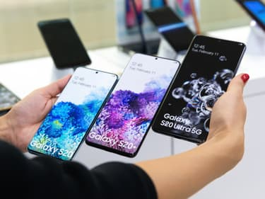 Samsung domine (toujours) sur le marché européen des smartphones
