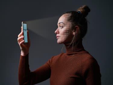Bientôt un smartphone doté d'un système de reconnaissance faciale sous l'écran ?