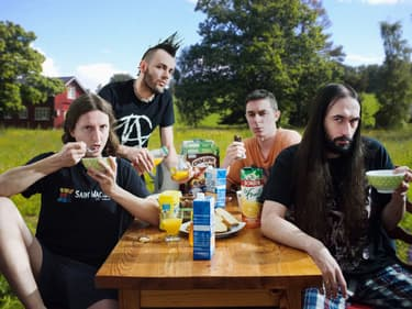 Ultra Vomit, le groupe de metal parodique qui cartonne