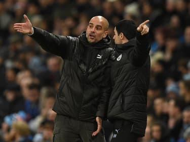 Premier League : City-Arsenal, les retrouvailles Guardiola-Arteta