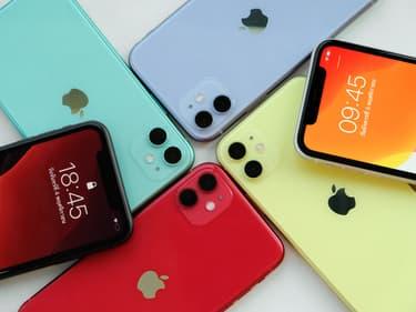 Les 10 smartphones les plus vendus depuis le début de l'année 2020