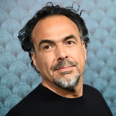 Le réalisateur Alejandro González Iñárritu à l'avant-première de La Forme de l'Eau, le 15 novembre 2017 à l'Academy of Motion Pictures Arts & Science, à Beverly Hills en Californie.