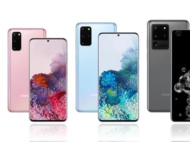 Samsung Galaxy S20, S20+ et S20 Ultra : quelles différences ?