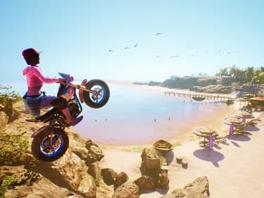 Urban Trial Playground : de la moto et du fun sur SFR Gaming