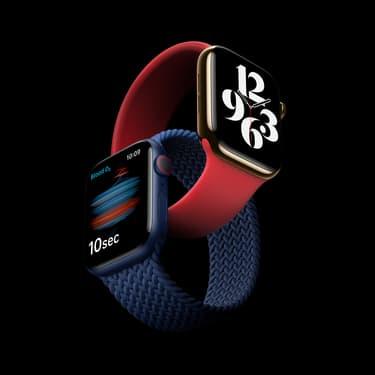 Apple Watch Series 6 : le plein de nouveautés, dont Oxygène sanguin