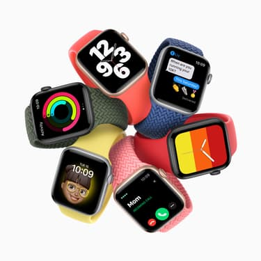 L'Apple Watch SE est disponible chez SFR