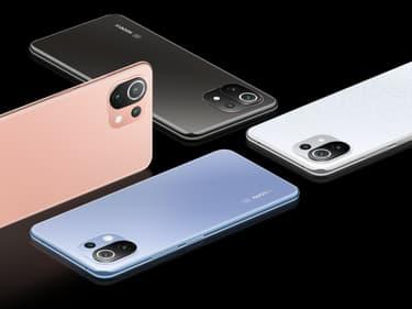 Xiaomi présente les 11T, 11T Pro et 11 Lite 5G NE, ses nouveaux smartphones