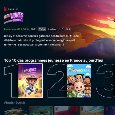 Netflix déploie de nouveaux outils pour mettre en avant ses contenus Jeunesse