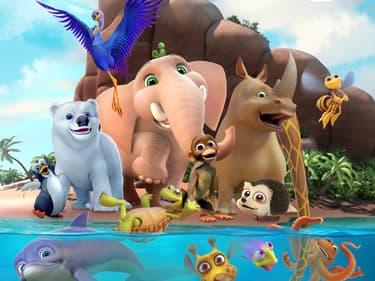 Jungle Beat : des animaux rigolos sur SFR Kids Récré