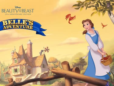 La Belle et la Bête : les aventures de Belle sur SFR Jeux