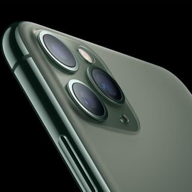 L'iPhone 11 Pro et l'iPhone 11 Pro Max ont un objectif de plus que la version standard de l'iPhone 11.