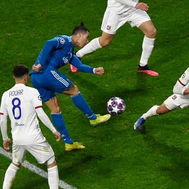 Cristiano Ronaldo et la Juventus piégés par les Lyonnais le 26 février 2020 au Groupama Stadium