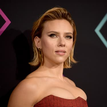 L'actrice Scarlett Johansson à la cérémonie des People's Choice Awards en 2018.