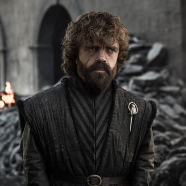 Tyrion Lannister (Peter Dinklage), l'un des personnages clés dans l'intrigue de la série Game of Thrones.