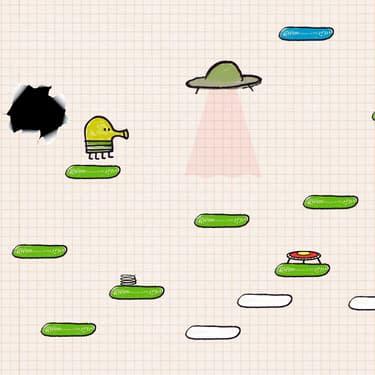 Retrouvez Doodle Jump sur SFR Jeux.
