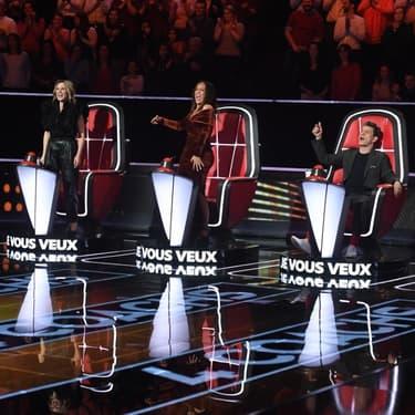 Les nouveaux coaches de The Voice sur TF1.