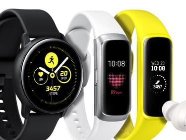 Découvrez le  bracelet connecté Samsung Galaxy Fit2