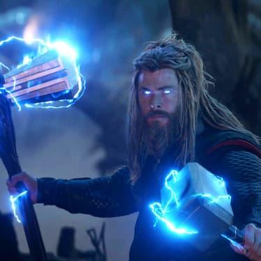 Thor a sorti Mjöllnir et Stormbreaker pour jouer avec Thanos dans Avengers : Endgame
