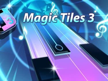 Faites appel à vos talents de pianiste dans Magic Tiles 3, disponible sur SFR Jeux Illimité