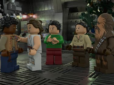 The LEGO Star Wars Holiday Special est sur Disney+