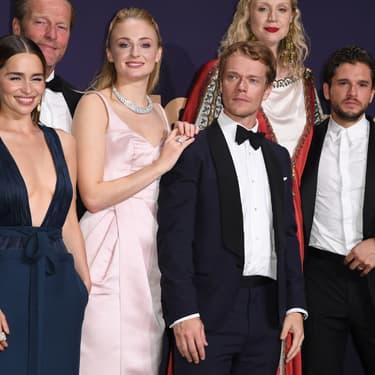 Le casting de Game of Thrones à la cérémonie des Emmy Awards 2019 à Los Angeles, le 22 septembre 2019