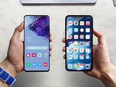 Samsung transforme les iPhone en Galaxy