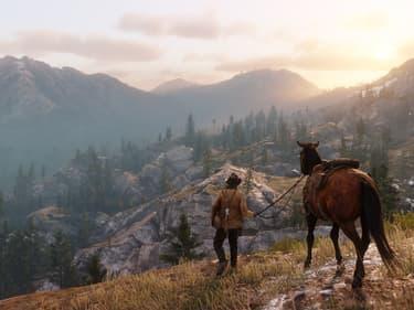 Red Dead Redemption II : une méthode insolite pour survivre aux grandes chutes