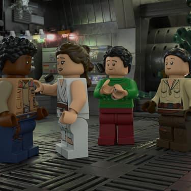 The LEGO Star Wars Holiday Special est sur Disney+