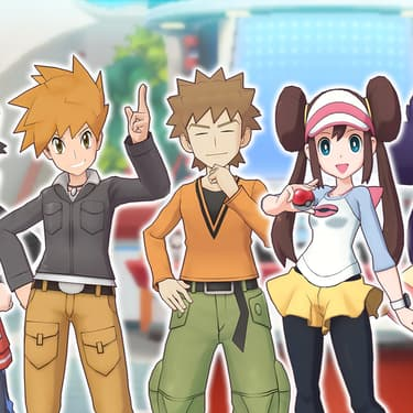 Les dresseurs les plus légendaires sont réunis dans Pokémon Masters
