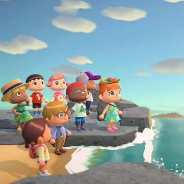 Profitez d'Animal Crossing : New Horizons avec tous vos amis !