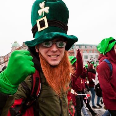 Le défilé de la Saint-Patrick à Dublin, un moment toujours plus glamour que la fashion week