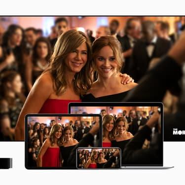 Jennifer Aniston et Reese Whiterspoon réunies pour la série The Morning Show.