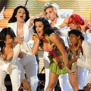 La chanteuse américaine Katy Perry à la 51e édition des Grammy Awards en 2009.