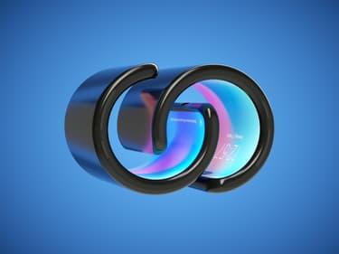 Lenovo imagine le smartphone qui se plie façon montre