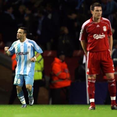 Le but de l'ex-marseillais Mathieu Valbuena contre Liverpool reste un grand moment dans l'histoire des clubs français en C1.