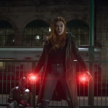 Elizabeth Olsen dans Avengers : Infinity War.