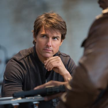 "Tom Cruise dans ""Mission Impossible : Rogue Nation""."