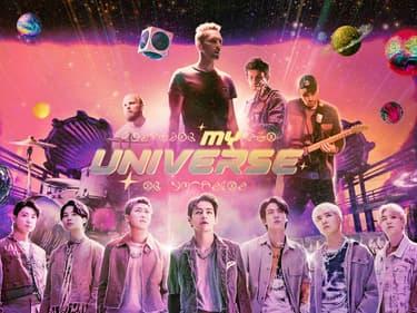 Coldplay invite BTS pour le clip du tube My Universe