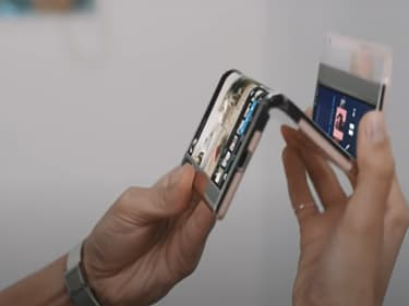 Samsung Display : des écrans enroulables et pliables en 3
