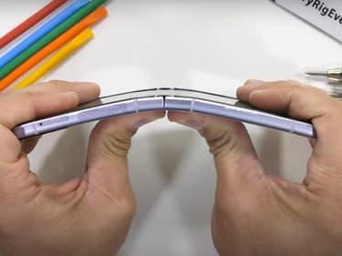 Le Samsung Galaxy Z Flip3 passe un test extrême de résistance