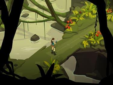 Déjouez les pièges mortels dans Lara Croft GO, disponible sur SFR Jeux Illimité !