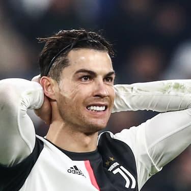 Cristiano Ronaldo lors d'un match de Serie A, Juventus - Udinese, à Turin, le 15 décembre 2019.