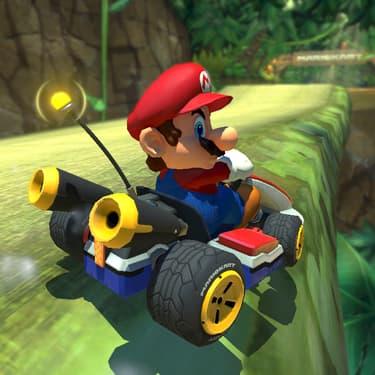 Ceci est un message de la gendarmerie nationale : la conduite sportive, réservez-la pour vos sessions de Mario Kart !
