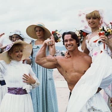 Arnold Schwarzenneger avait fait sensation lors de son premier passage à Cannes